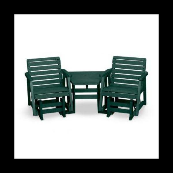 Garden Glider Chair Tete-a-Tete By The Yard