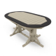 Oval Framed Table 44_x66_ from By The Yard