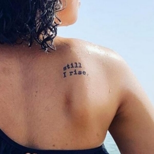 Still I Rise Tattoo Pack From Conscious Ink