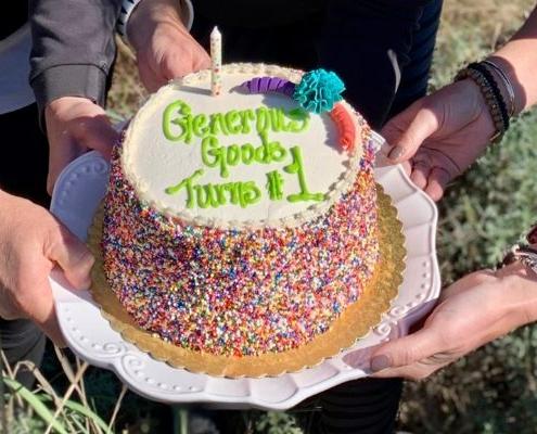 Happy Birthday Generous Goods!