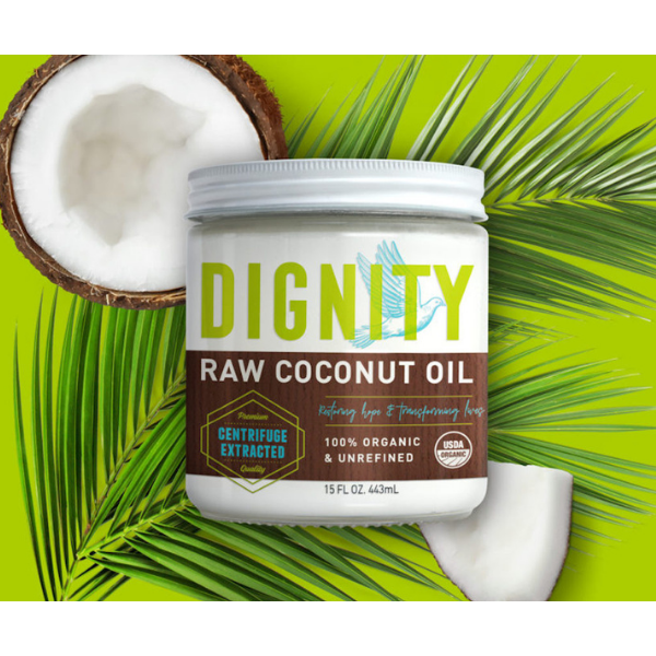 Raw Coconut Oil 15 oz from Dignity Coconuts