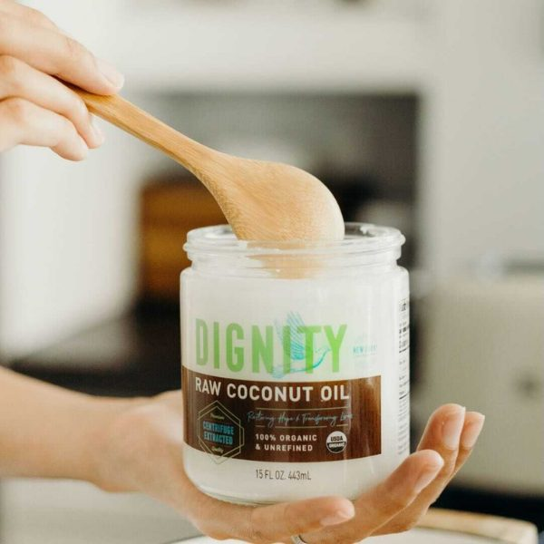 Raw Coconut Oil 15 oz. from Dignity Coconuts