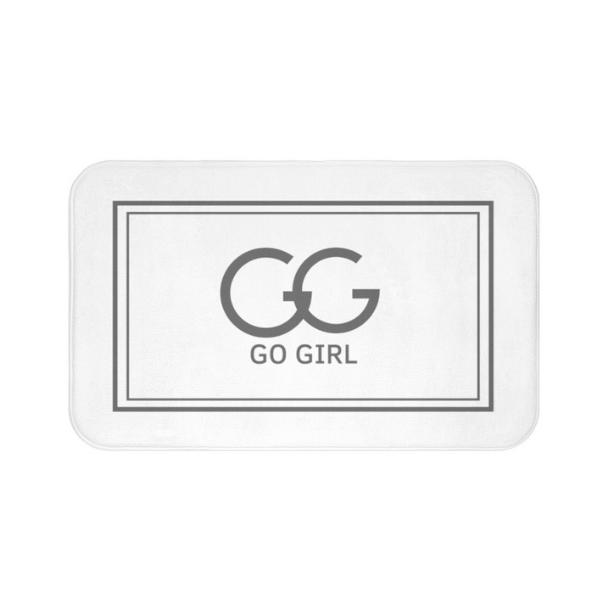 Go Girl Bath Mat from Gal Pal Goods