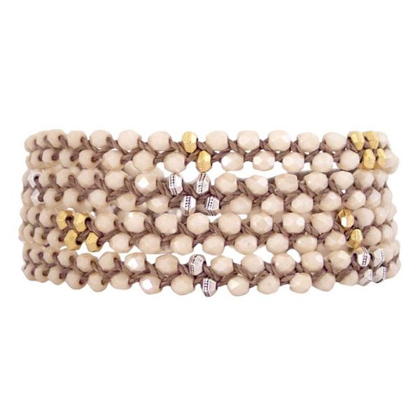 Glasswrap Bracelet from Bronwen Jewelry
