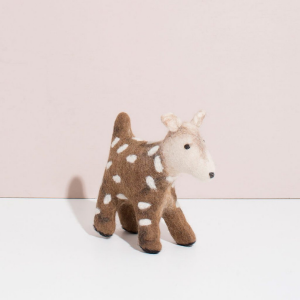 Hand Felted Deer from Mulxiply