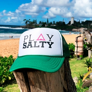 5 Panel Foam Trucker Hat from Play Salty