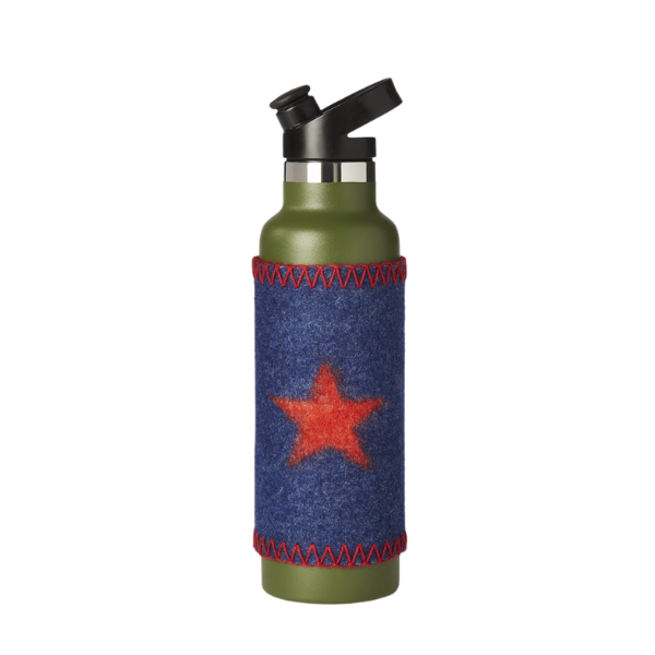 Star Bright Tall Boy felted Sleeve from Citizen Burr