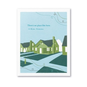 There's No Place Like Home Card from Compendium