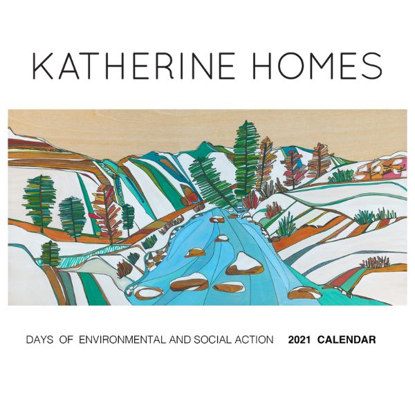 2021 Environmental and Social Action Calendar from Katherine Homes