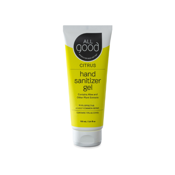 Citrus Hand Sanitizer Gel from All Good