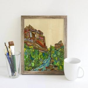 Katherine Homes Art Print - El Dorado Canyon