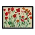 Katherine Homes Art Print - Poppies