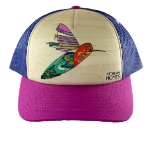 Youth Trucker Hat - Hummingbirds from Katherine Homes