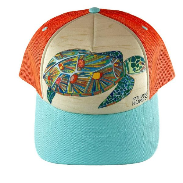 Youth Trucker Hat - Sea Turtles from Katherine Homes