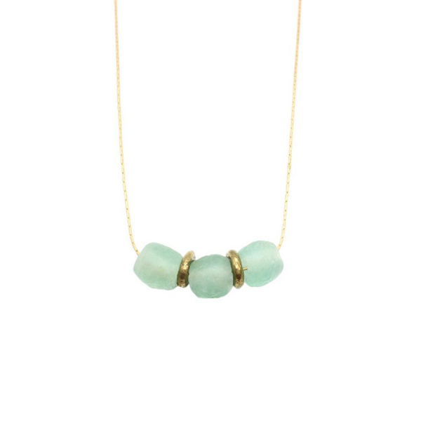 Upcycled Love Necklace from Bird+Stone