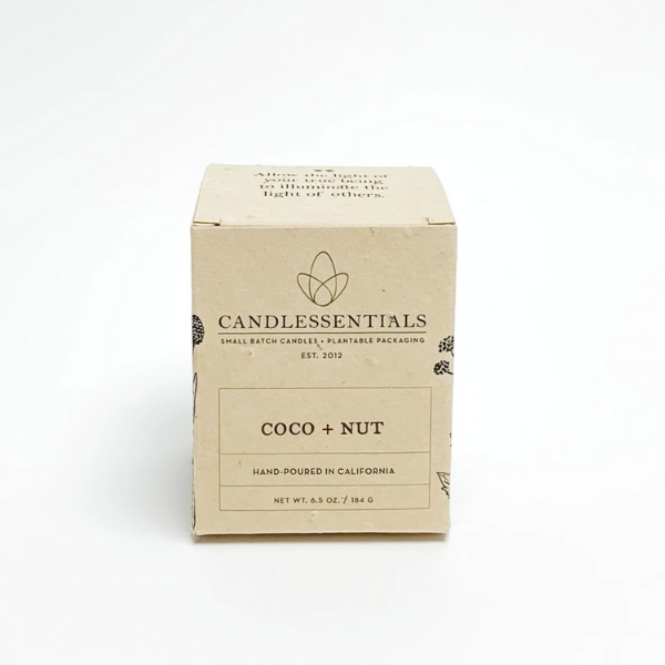 Coco + Nut Candle from Candlessentials