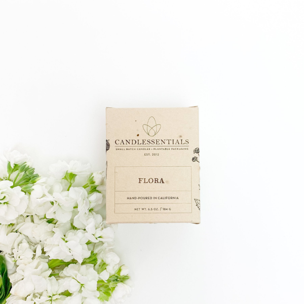Flora Candle from Candlessentials