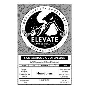 Honduras Dark Roast from Elevate Coffee Trading
