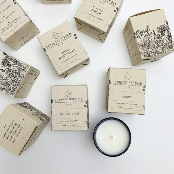 Sweet Earth Candle from Candlessentials