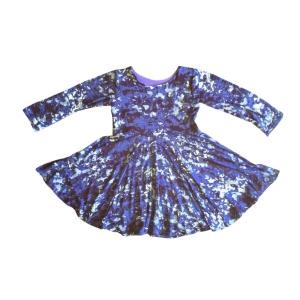 Violet Little Girl Dress from eleven259